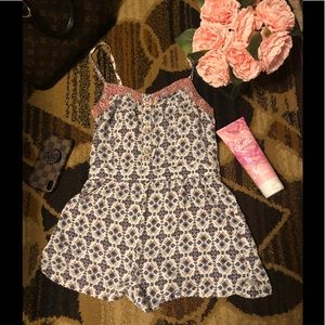 American eagle outfit romper xs